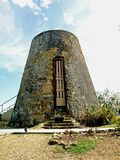 Antiguan Sugar Mill Stock Photos