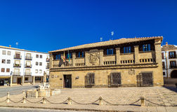 Antiguas Carnicerias, ένα ιστορικό κτήριο Baeza, Ισπανία Στοκ Εικόνες