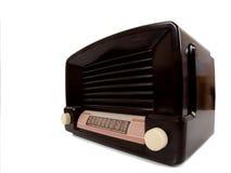 antigue收音机 库存图片