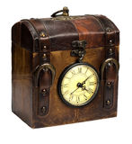 antigue clok手表 库存照片