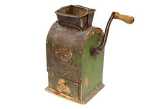 Antigue coffee mill Royalty Free Stock Image