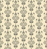 Antigue seamless pattern Royalty Free Stock Photos