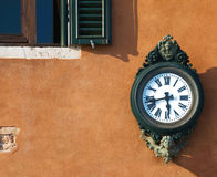 Antigue street clock, Venice Stock Image