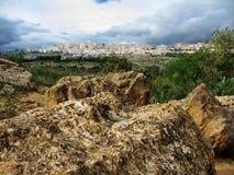 A antiguidade e civilização Sicília, Italy Imagem de Stock