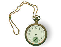 Antiguidade Pocketwatch Fotografia de Stock