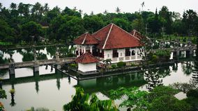 A antiguidade preservada ao dia atual Palácio asiático do templo ou do pura video estoque