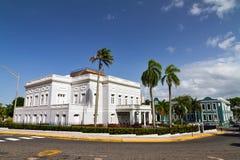 Antiguo Casino. Historic building Antiguo Casino de Puerto Rico in San Juan, in Beaux Arts architecture Stock Image