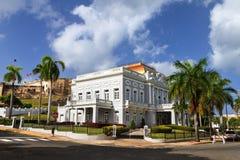 Antiguo Casino San Juan. Historic building Antiguo Casino de Puerto Rico in San Juan, in Beaux Arts architecture Stock Photos
