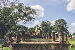 Antiguos tailandeses permanecen Imagen de archivo libre de regalías