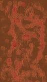 antik asiatisk tygwallpaper Royaltyfri Bild