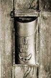 antik askpost Fotografering för Bildbyråer