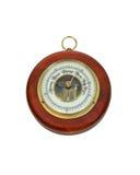 antik barometer Fotografering för Bildbyråer