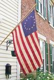 antik betsy flagga ross Fotografering för Bildbyråer