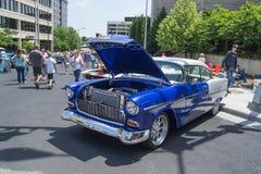 Antik bil på en Car Show Royaltyfria Bilder