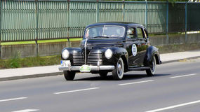 Antik bil, Sachsen klassiker 2014 Royaltyfri Foto