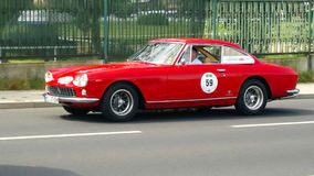 Antik bil, Sachsen klassiker 2014 Royaltyfria Foton