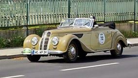 Antik bil, Sachsen klassiker 2014 Royaltyfri Bild