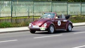 Antik bil, Sachsen klassiker 2014 Fotografering för Bildbyråer