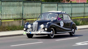 Antik bil, Sachsen klassiker 2014 Arkivbilder