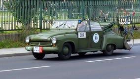 Antik bil, Sachsen klassiker 2014 Arkivfoto