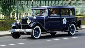 Antik bil, Sachsen klassiker 2014 Arkivfoton