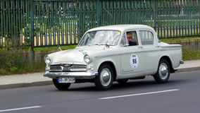 Antik bil, Sachsen klassiker 2014 Royaltyfri Fotografi