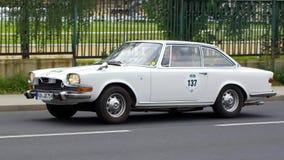 Antik bil, Sachsen klassiker 2014 Arkivbild