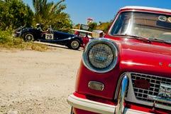 antik bilframdelred Fotografering för Bildbyråer