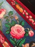 Antik blommadetalj Royaltyfri Bild