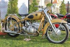 antik bmw-motorcykel Royaltyfri Bild