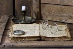 antik bok royaltyfri fotografi
