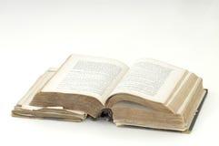 antik bok mig Royaltyfria Foton