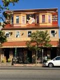 Antik bokhandel Royaltyfri Fotografi