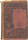 antik bokomslagred royaltyfria foton