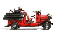 antik brandlastbil Royaltyfri Bild