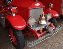 antik brandmanlastbil Royaltyfri Fotografi