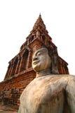Antik Buddhastaty Arkivfoton