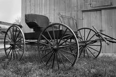 antik buggy Fotografering för Bildbyråer