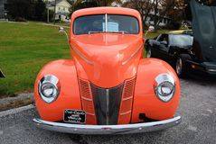 Antik Car Show Arkivbild