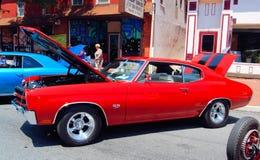 Antik Car Show Fotografering för Bildbyråer