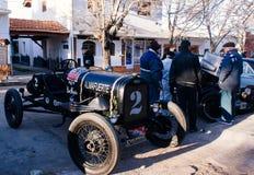 Antik Car Show Royaltyfri Bild