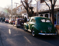 Antik Car Show Royaltyfria Bilder
