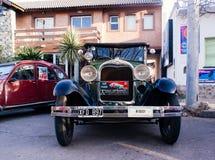 Antik Car Show Royaltyfri Foto