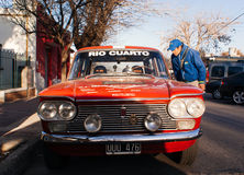 Antik Car Show Royaltyfri Fotografi