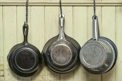 Antik Cookware Fotografering för Bildbyråer