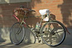 antik cykel Royaltyfria Foton