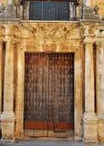 antik dörröppning Arkivbild