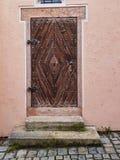 antik dörr royaltyfri foto