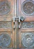 Antik dörr Royaltyfria Bilder