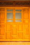 antik dörr Royaltyfria Foton